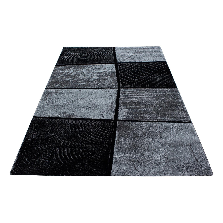 Teppich Modern Designer Wohnzimmer Geometrisch Karo Muster ...