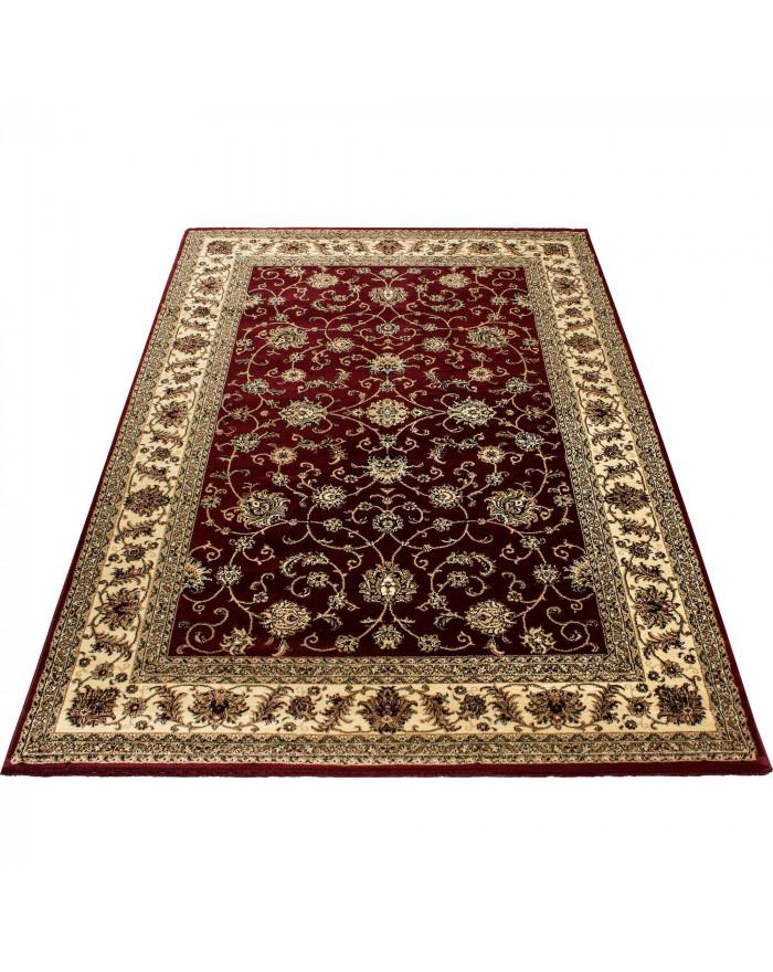 Orientteppich Klassischer Orientalisch Traditional Webteppich Rot Beige