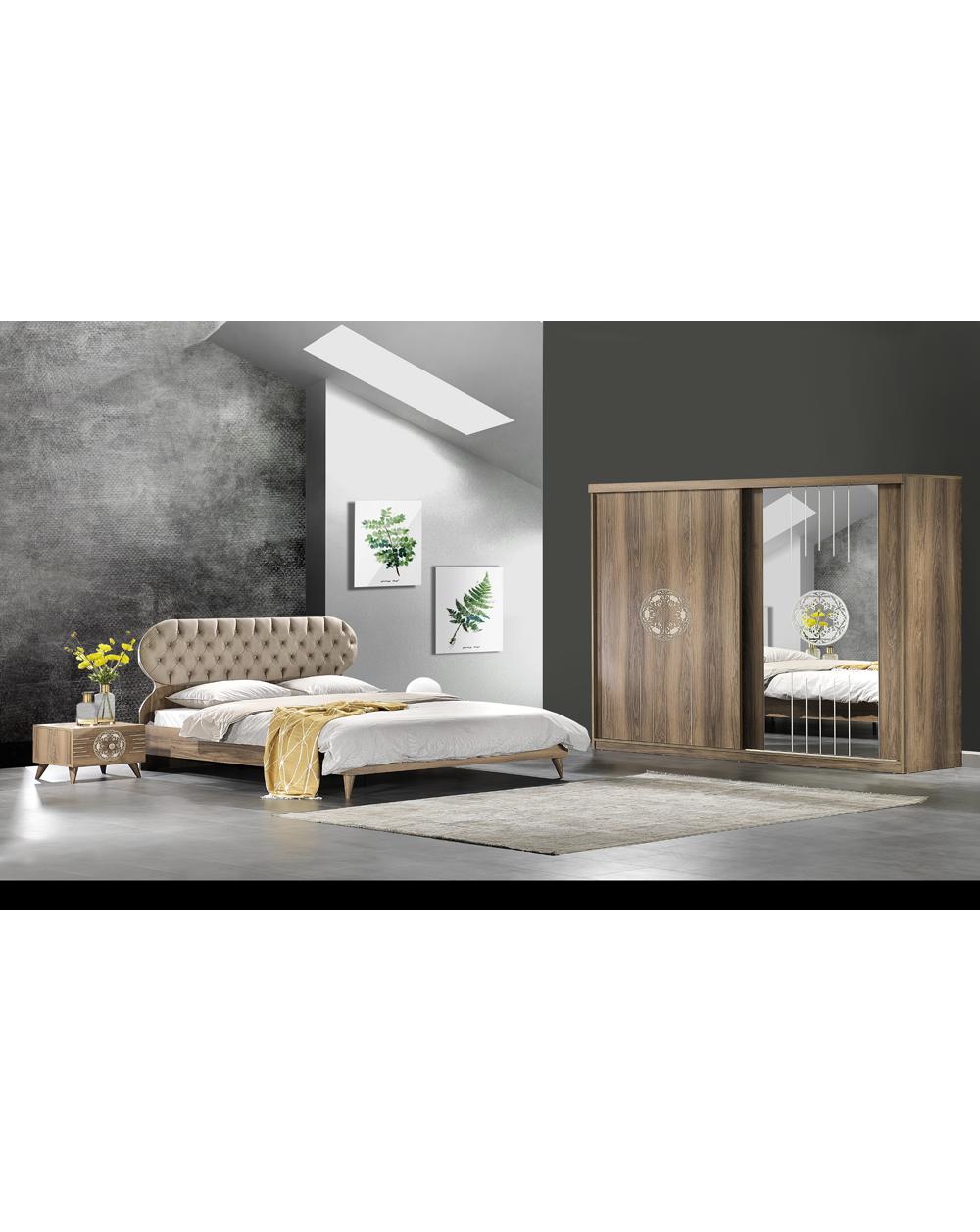 Antik Moderne Kopmlett Schlafzimmer