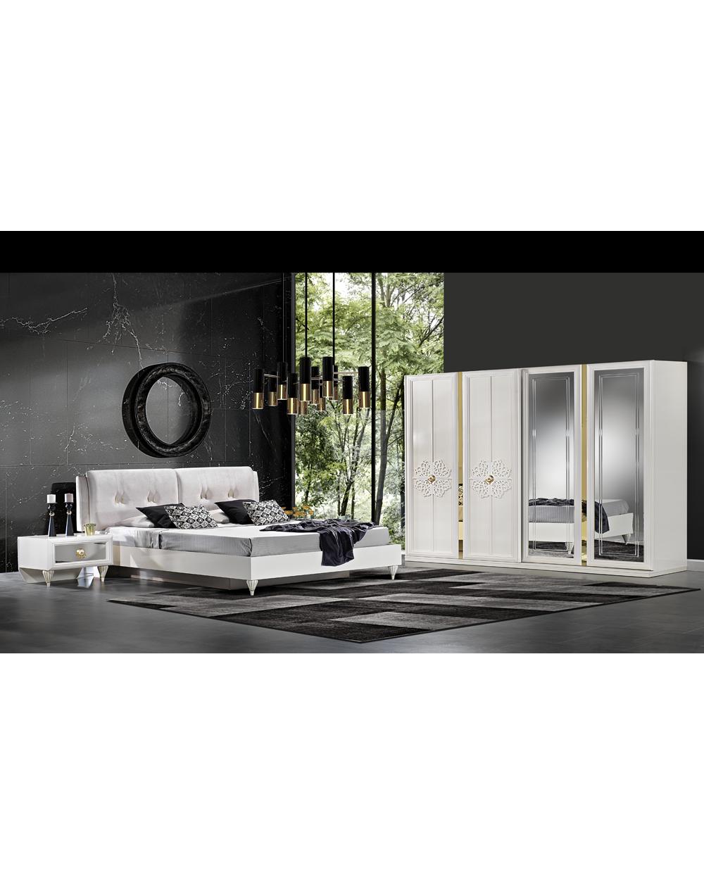 Ekin Moderne Komplett Schlafzimmer