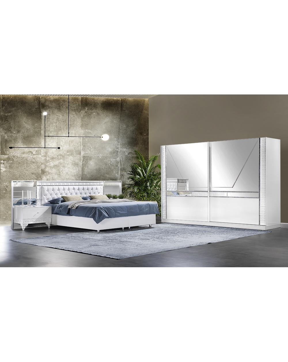 Safran Moderne Komplett Schlafzimmer