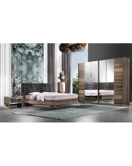 Sofya Moderne Komplett Schlafzimmer