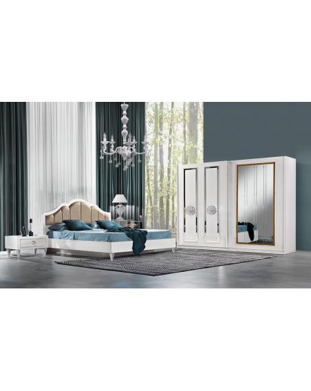 Viyana Moderne Komplett Schlafzimmer