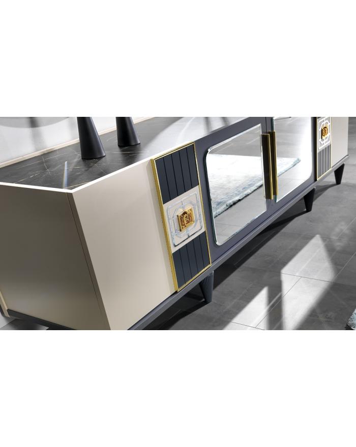 Yorunge Sideboard mit Spiegel