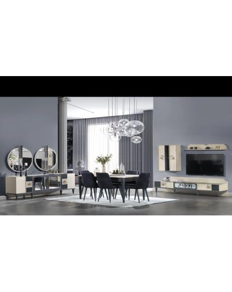 Yorunge Moderne Komplett Esszimmer