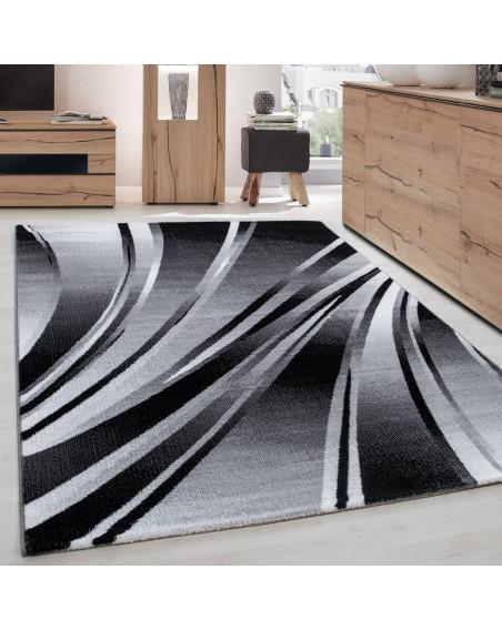 Moderner Designer Teppich Parma 9210 SCHWARZ