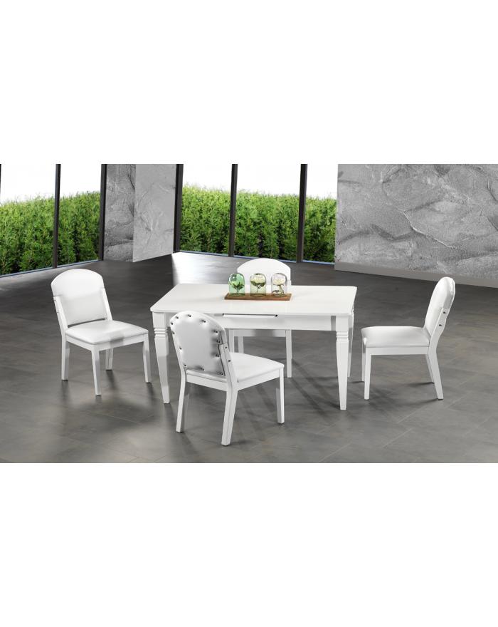 Milenyum Esstisch & 4 Stühle