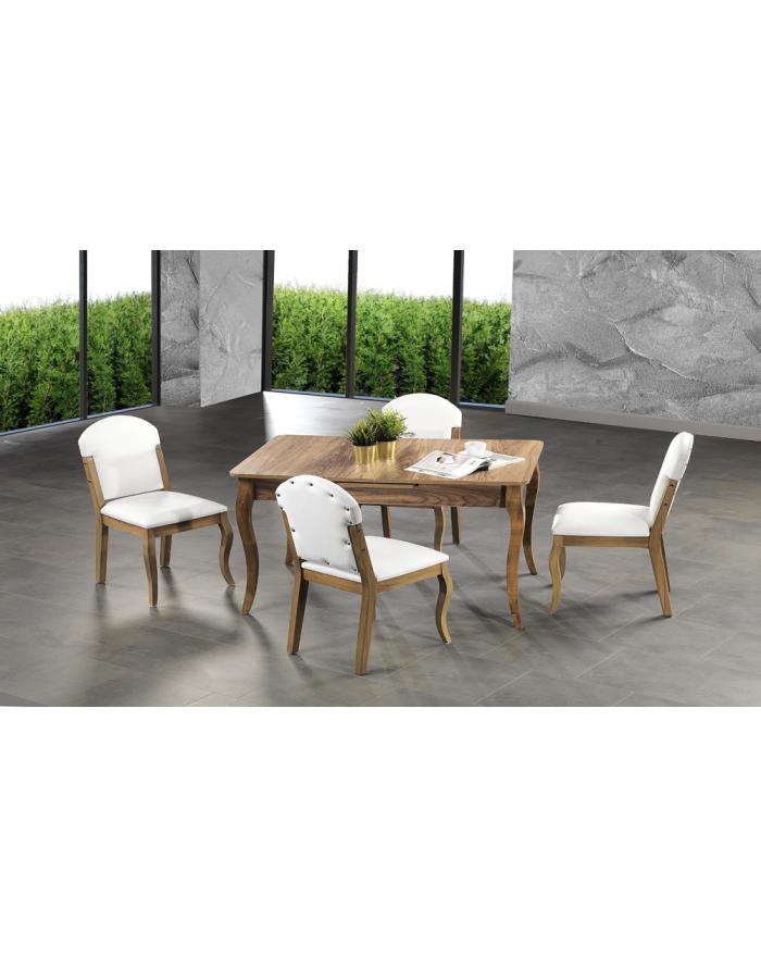 Venus Esstisch & 4 Stühle