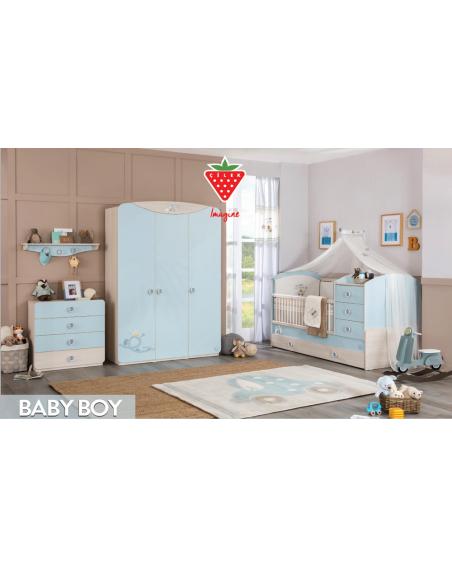 Baby Boy Komplett Babyzimmer