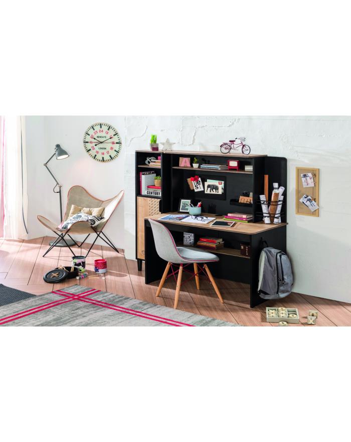 Black K Schreibtischaufsatz