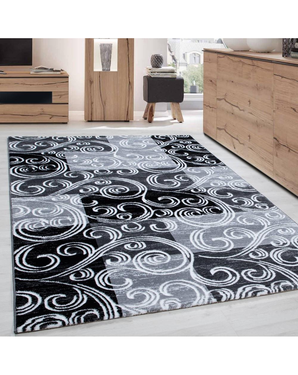 Modern & Designer Teppich TOSCANA 3130 SCHWARZ