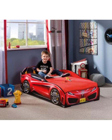 Spyder Rot Autobett