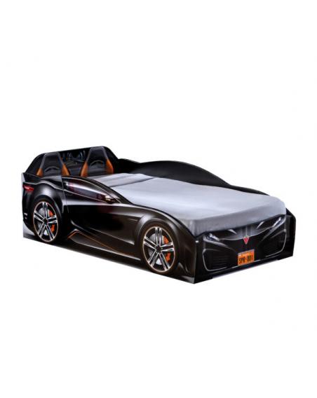 Spyder Schwarz Autobett