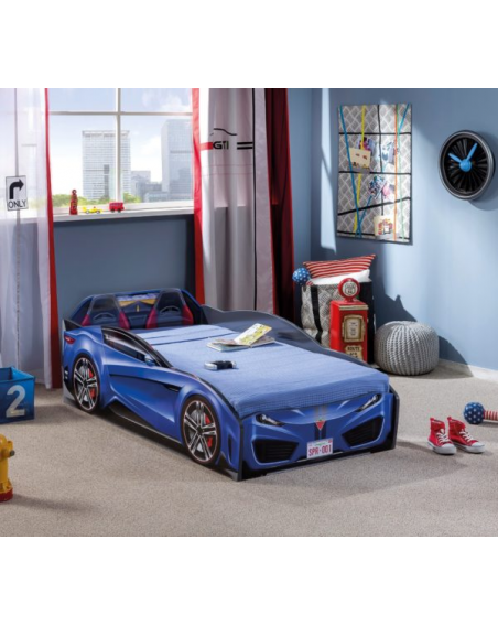 Spyder Blau Autobett