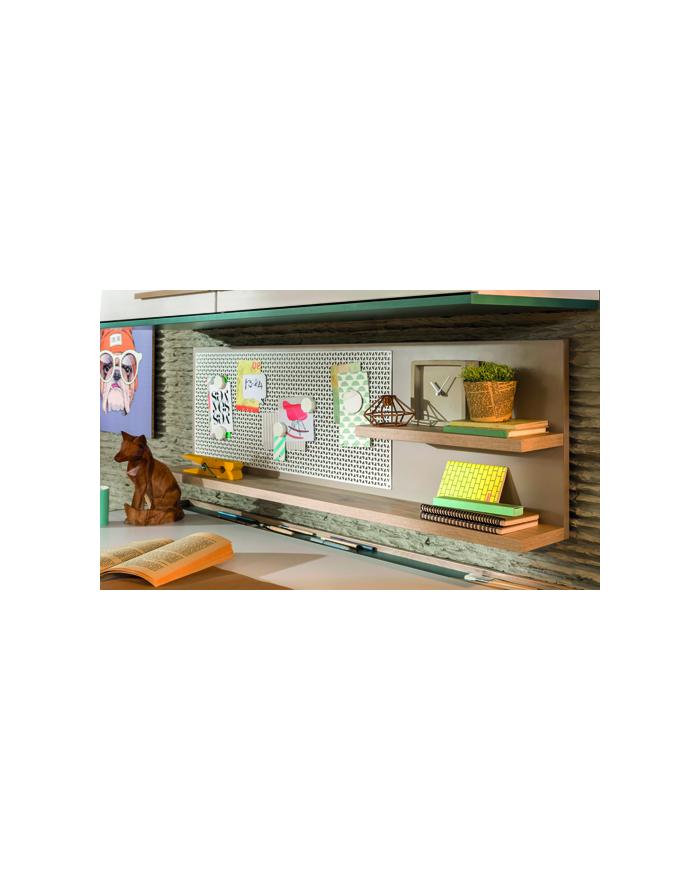 Lofter Schreibtischregal