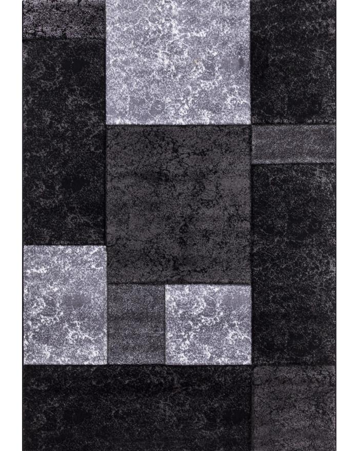 Modern & Designer Konturenschnitt 3D Teppich HAWAII 1330 SCHWARZ