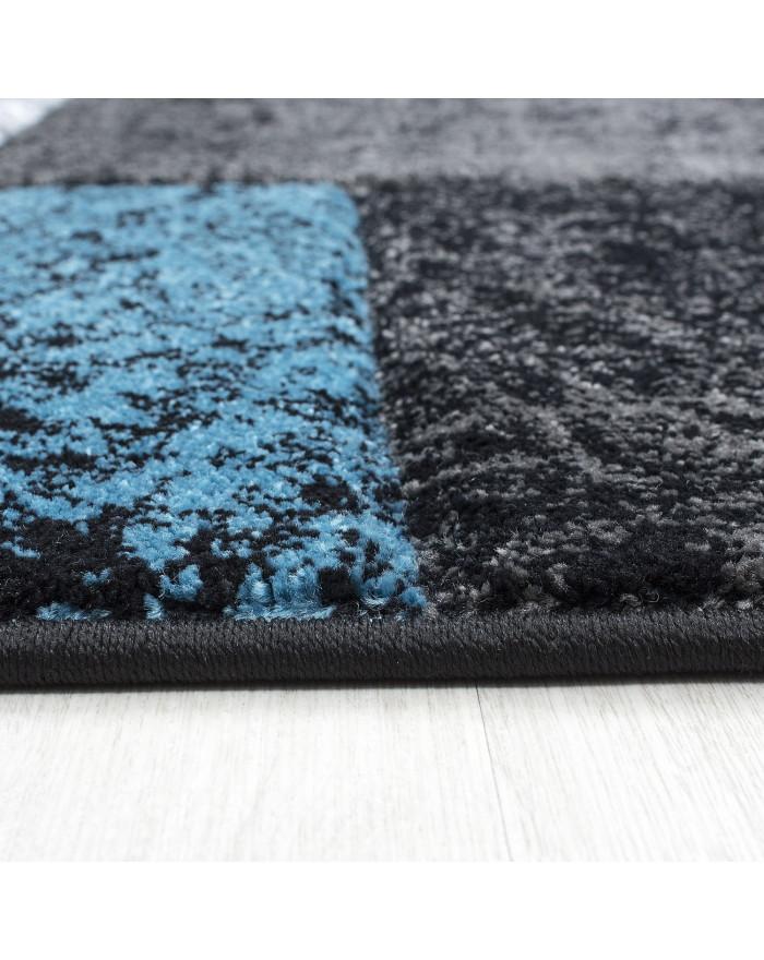 Modern & Designer Konturenschnitt 3D Teppich HAWAII 1330 TÜRKIS
