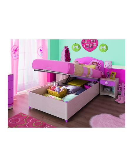 SL Princess Base Bett 90×190
