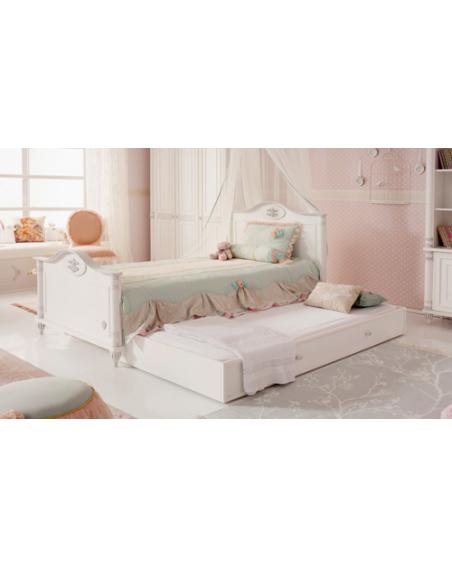 Romantic Jugendbett 120×200