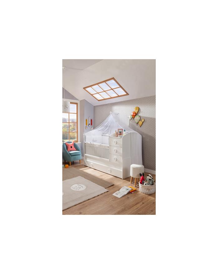 Baby Cotton Babybett umwandelbar zum Kinderbett 80x180