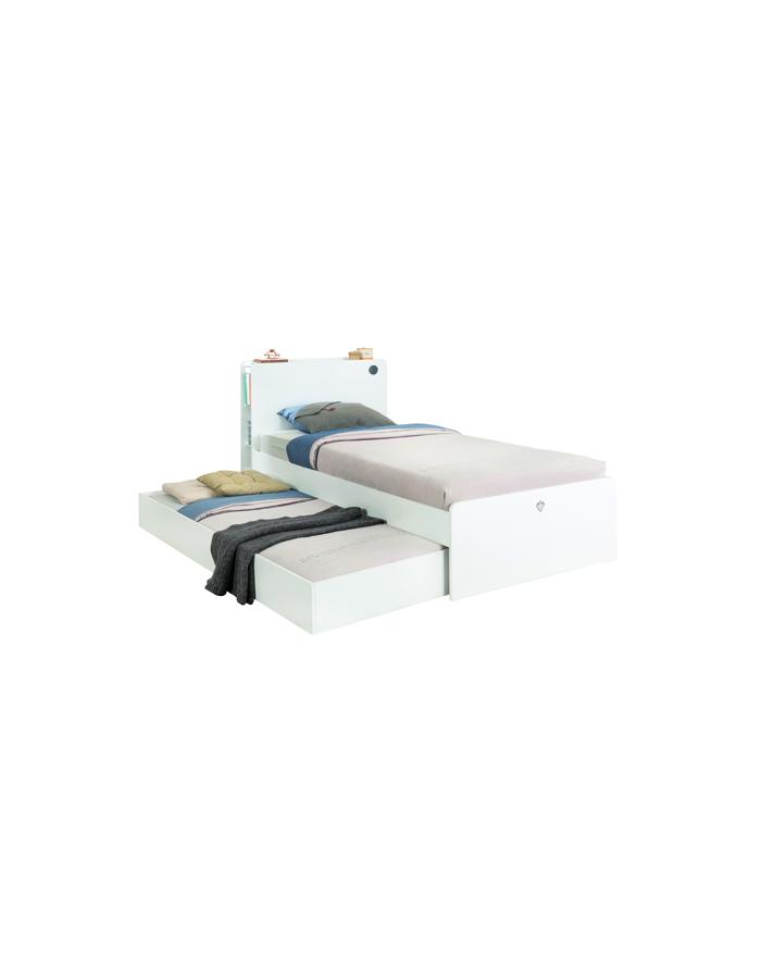 White Gästebett 90×190