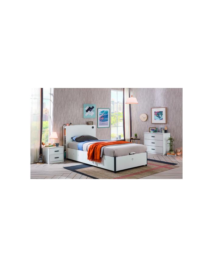 White Base Bett 100x200