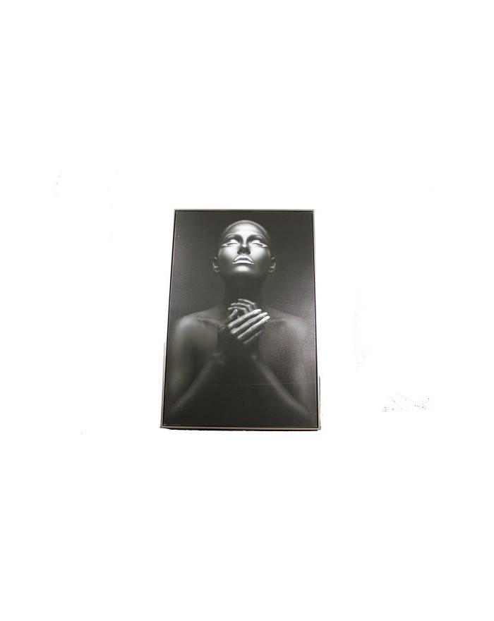 Kunstdruck mir Rahmen 60x90 Blackdesign
