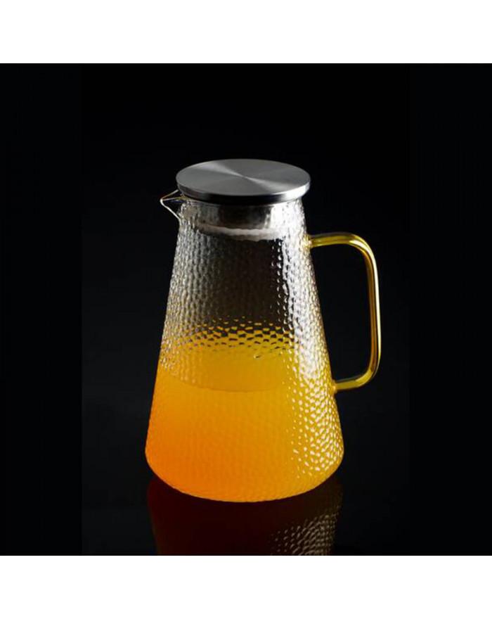 Glas Karaffe mit Deckel...