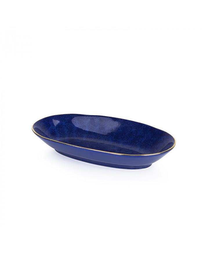 Safir Schale Keramik oval...