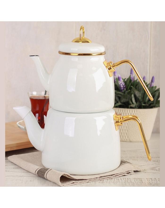 ROMA Teekannenset Weiß