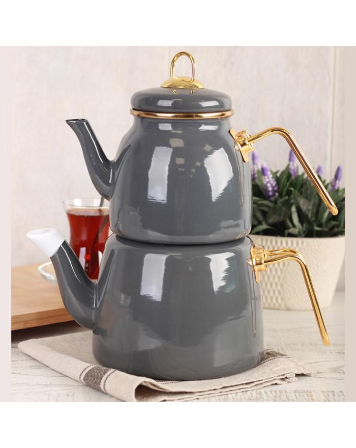 ROMA Teekannenset Grau