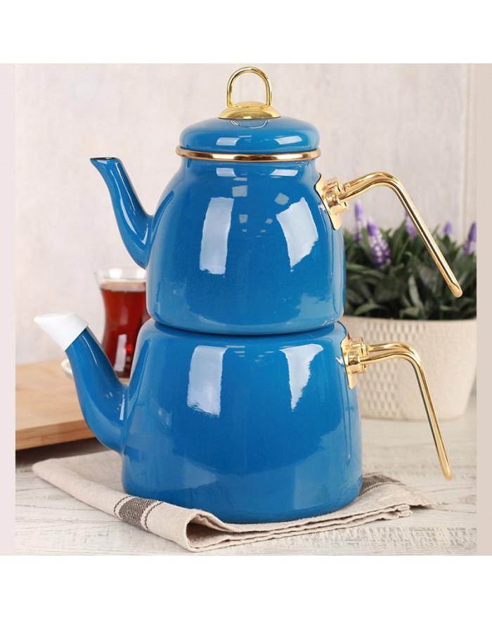 Roma Teekannenset Blau