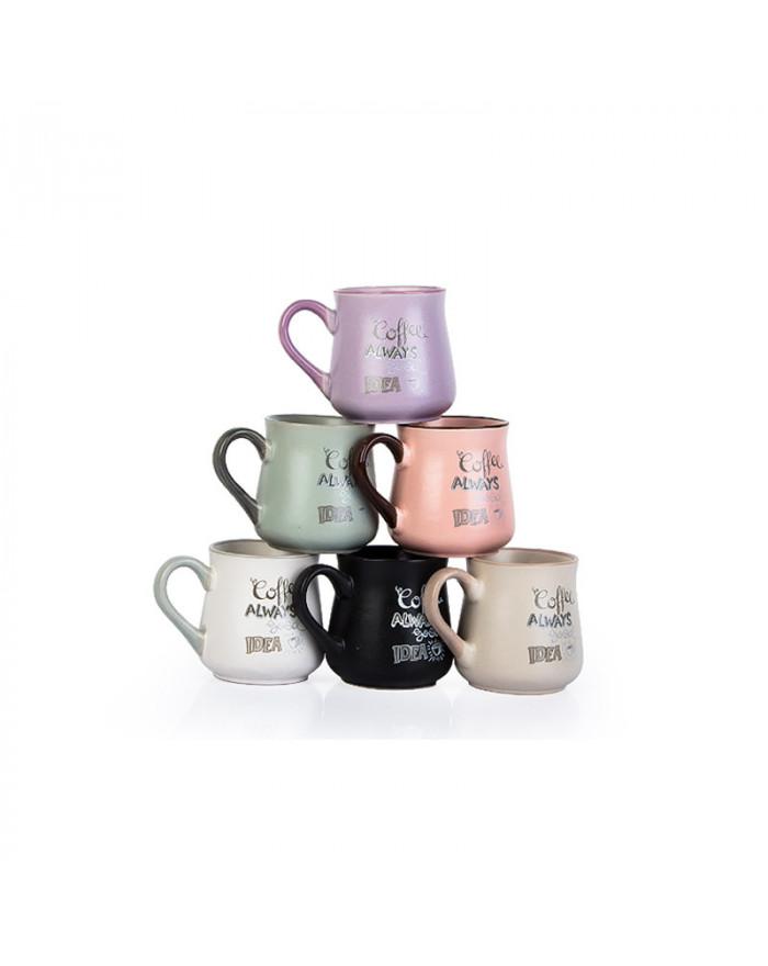 Keramik Becher + Farbvarianten