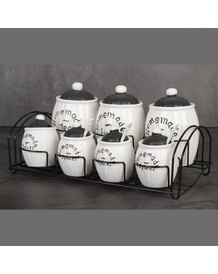 Vorratsdosen Set Keramik...