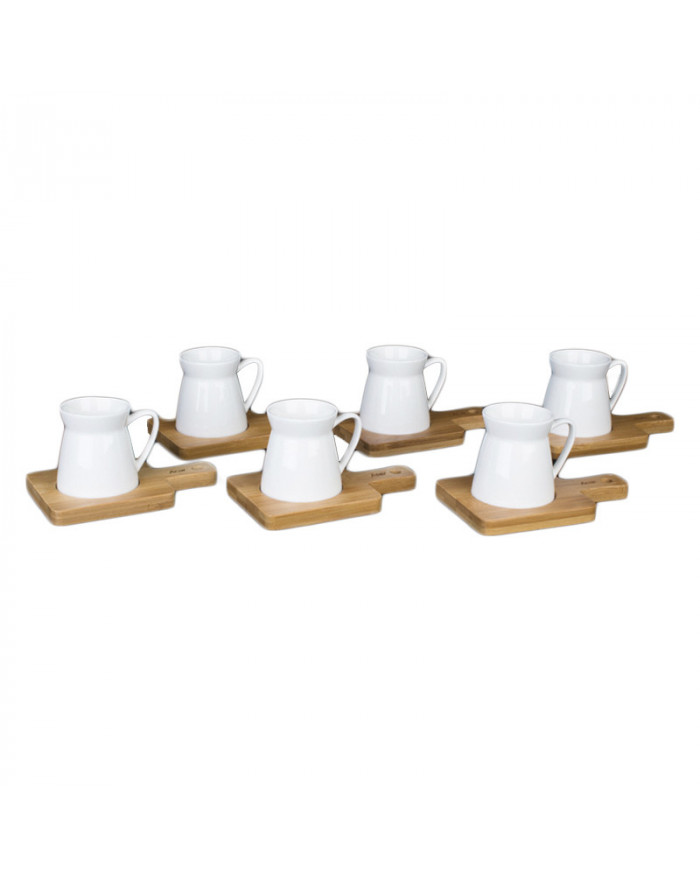 6 Pers. Moccaset Bambus