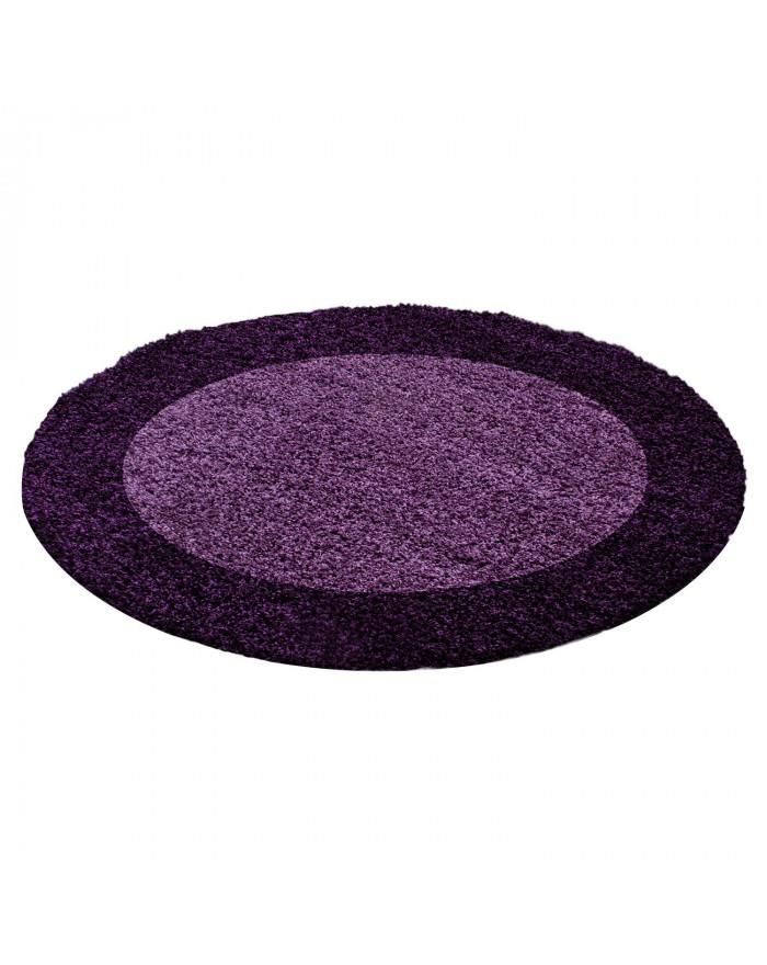 Hochflor Langflor Shaggy Designer Teppich Lila-Violett