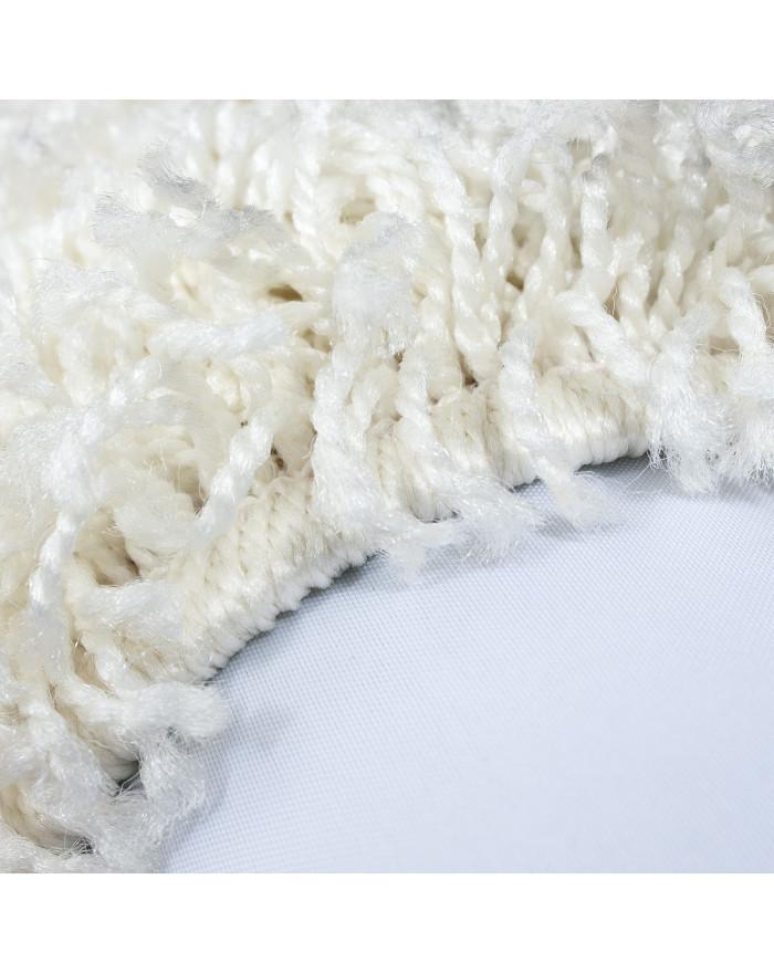 Hochflor Shaggy Teppich Unifarbe DREAM 4000 CREME