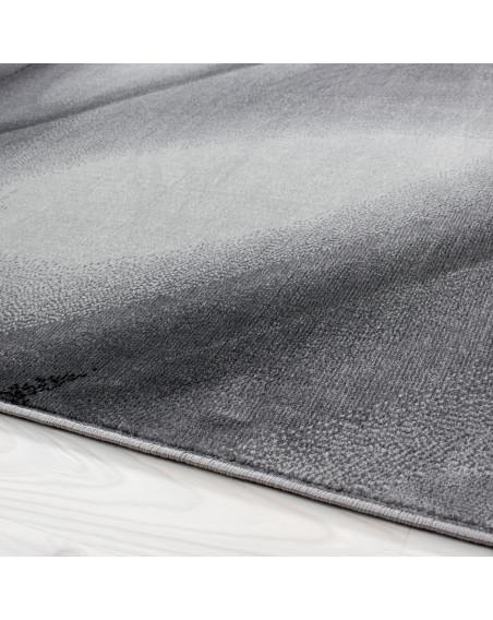 Moderner Designer Teppich Miami 6590 Schwarz