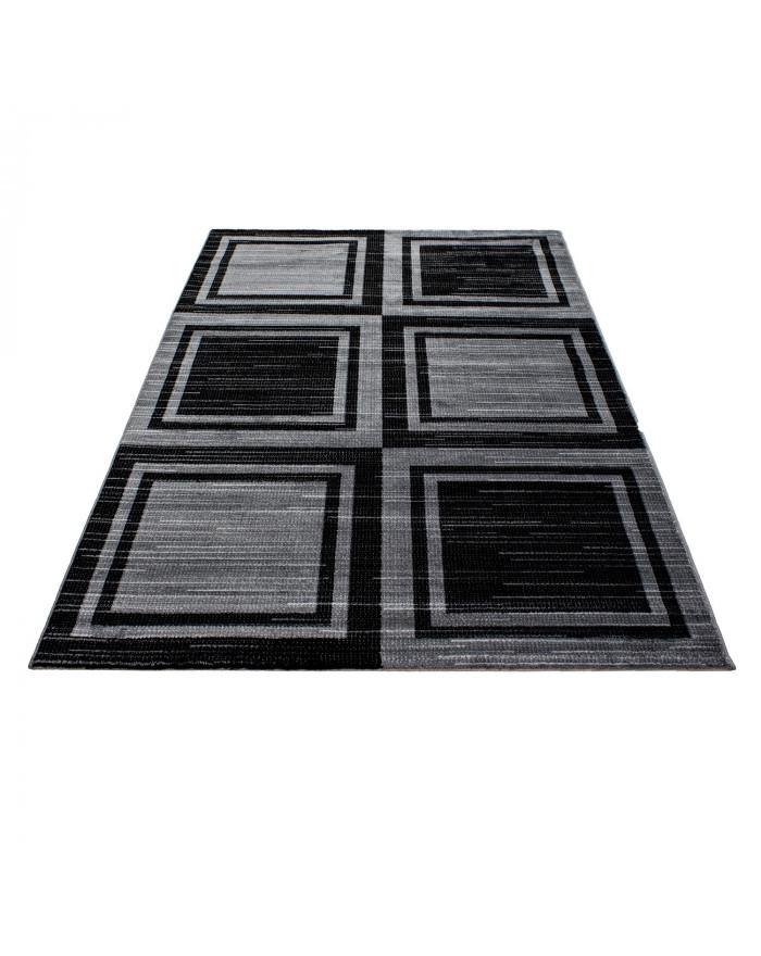 Moderner Designer Teppich PARMA 9270 SCHWARZ