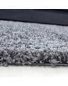 Hochflor Shaggy Teppich Unifarbe DREAM 4000 GRAU