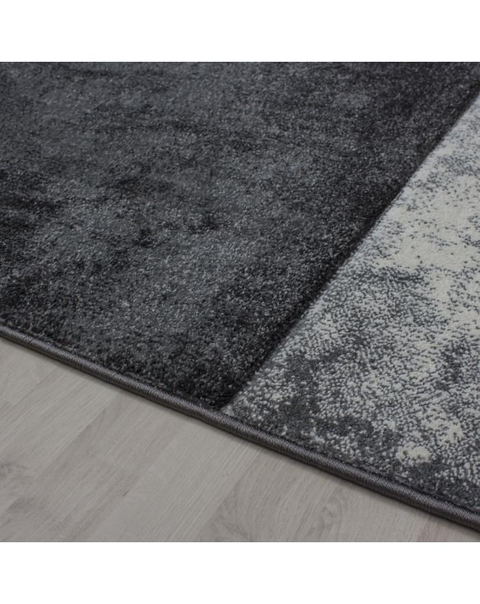 Moderner Designer Konturenschnitt 3D Teppich Hawaii 1710 Grau