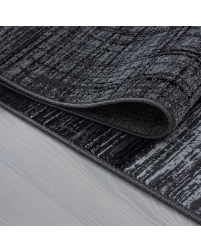 Moderner Designer Teppich Plus 8001 Schwarz