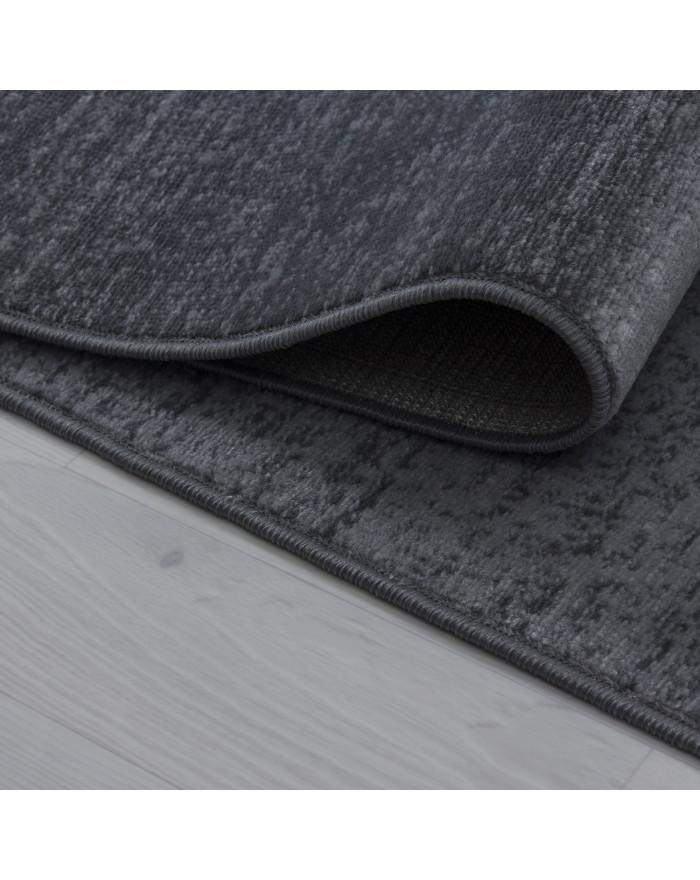 Moderner Designer Teppich Plus 8002 Grau