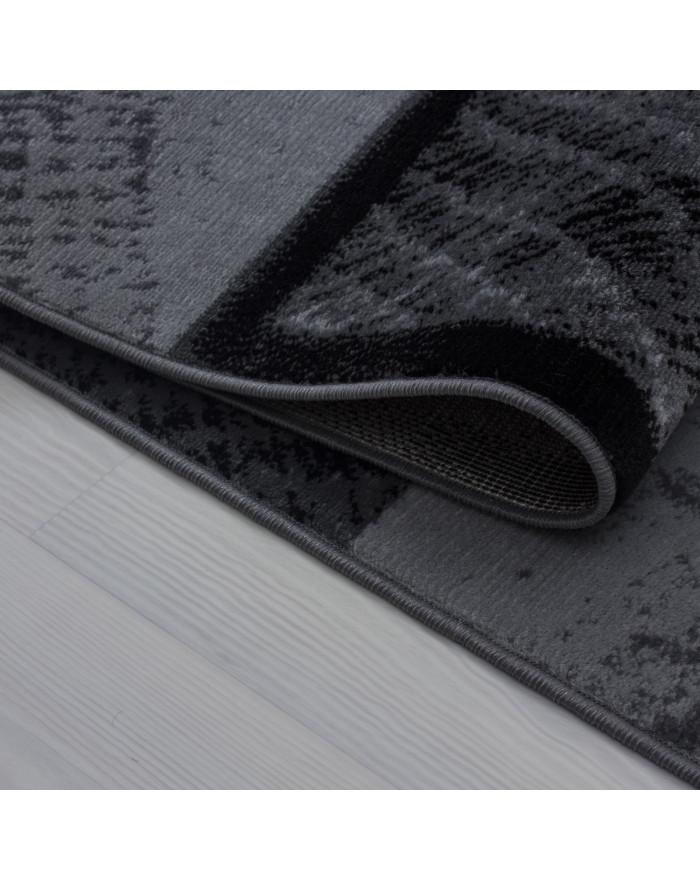 Moderner Designer Teppich Plus 8003 Schwarz