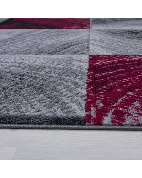Moderner Designer Teppich Plus 8003 Rot