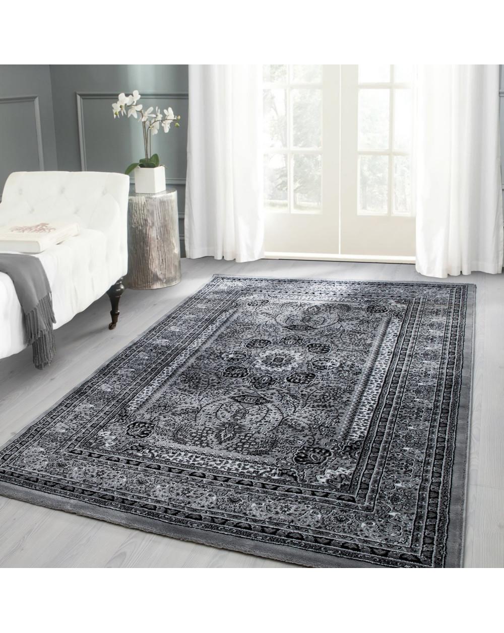 Klassischer Orientalischer Teppich Marrakesh 0207 Grau
